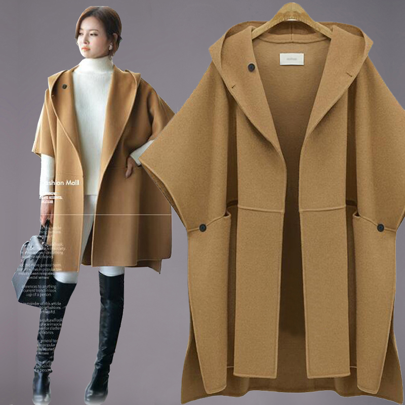 Popular Short Sleeve Wool Coat Camel-Buy Cheap Short Sleeve Wool