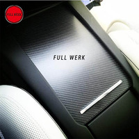 1pc Car Center Console Armrest Box Sticker Decal Wrap Guard Protector Cover for Tesla Model S Model X Auto Interior Accessories