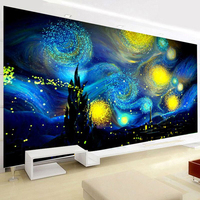 Full Diamond Painting 120x70CM Starry Sky Landscape Rhinestone Handmade Diamond Mosaic Picture Diy Diamond Embroidery