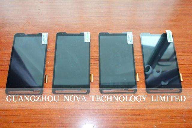 Original para htc touch hd2 leo t8585/desire 610 d610/desire 500 d500 display lcd com tela de toque digitador de vidro montagem