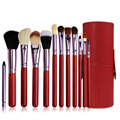 12PCS Makeup Brushes Professional Make Up Brush Set Ppincel Maquiagem For Beauty Blush Contour Foundation Cosmetics With Holder