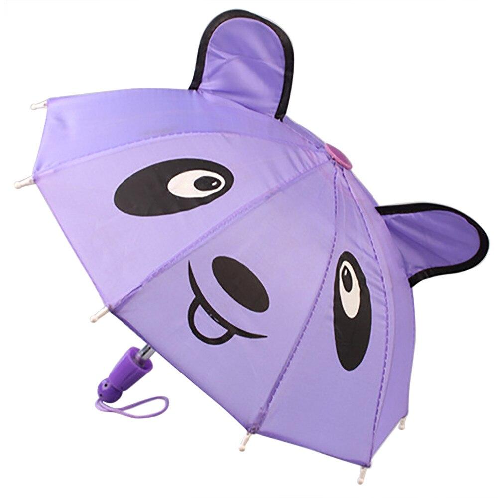 Umbrella Accessories For 18 inch American Girl /Baby Born Dolls Handmade Outdoor Children Best Gift
