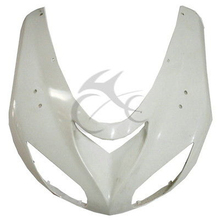 Motorcycle ABS Upper Cowl Front Fairing Nose For KAWASAKI NINJA ZX10R ZX-10R 2006 2007