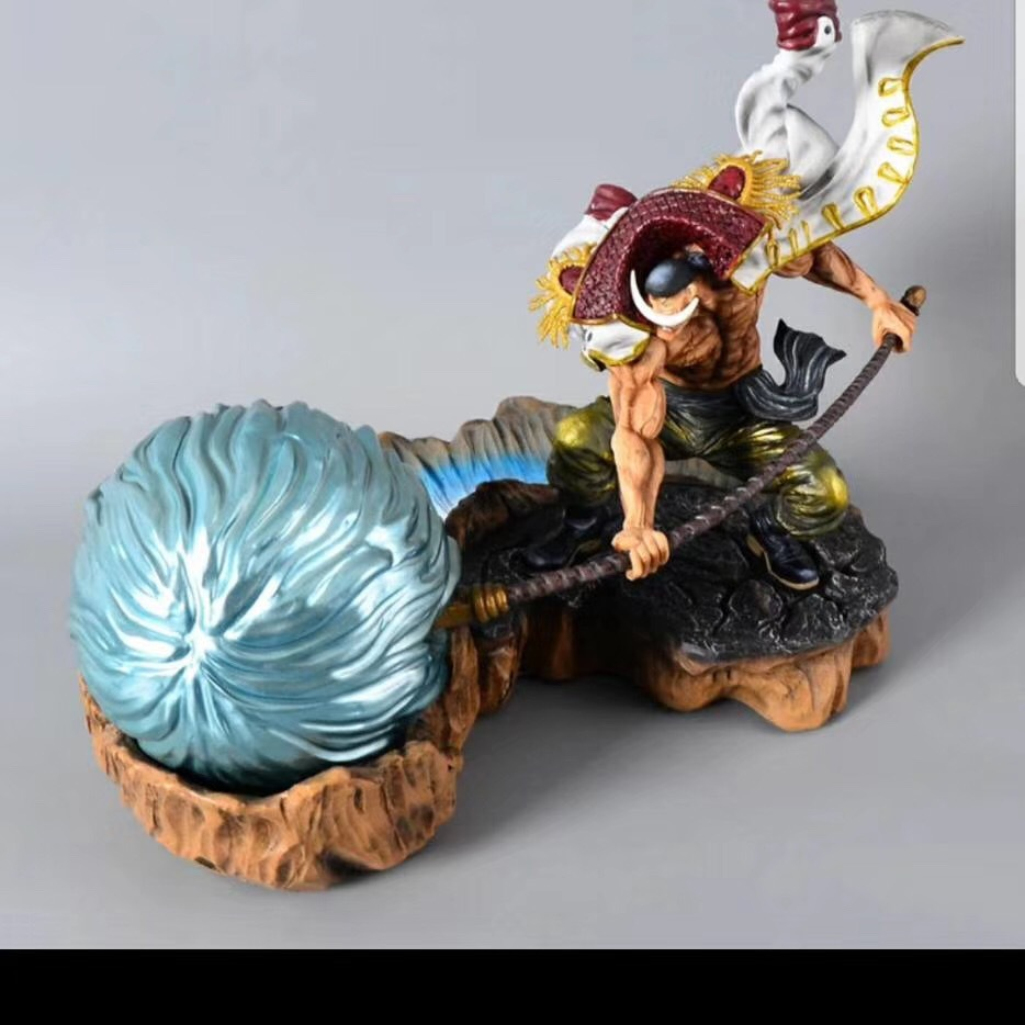 One Piece White Beard Pirates Action Figure 1/8 scale painted figure Fighting Ver. Edward Newgate PVC figure Toy BrinquedosOne Piece White Beard Pirates Action Figure 1/8 scale painted figure Fighting Ver. Edward Newgate PVC figure Toy Brinquedos