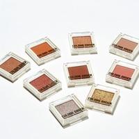 CHIOTURE бренд одного металлик тени для век макияж Палитра нюдовые Сияющие матовый пигментный блеск для век косметической Сомбра
