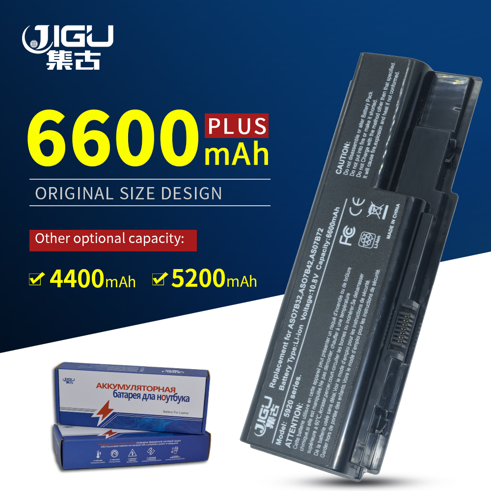 JIGU Laptop Battery For Acer Aspire 5942G 6530 6530G 6920 6920G 6930 5739 5739G 5910G 5920 5930 5930G 5935 5940 5942