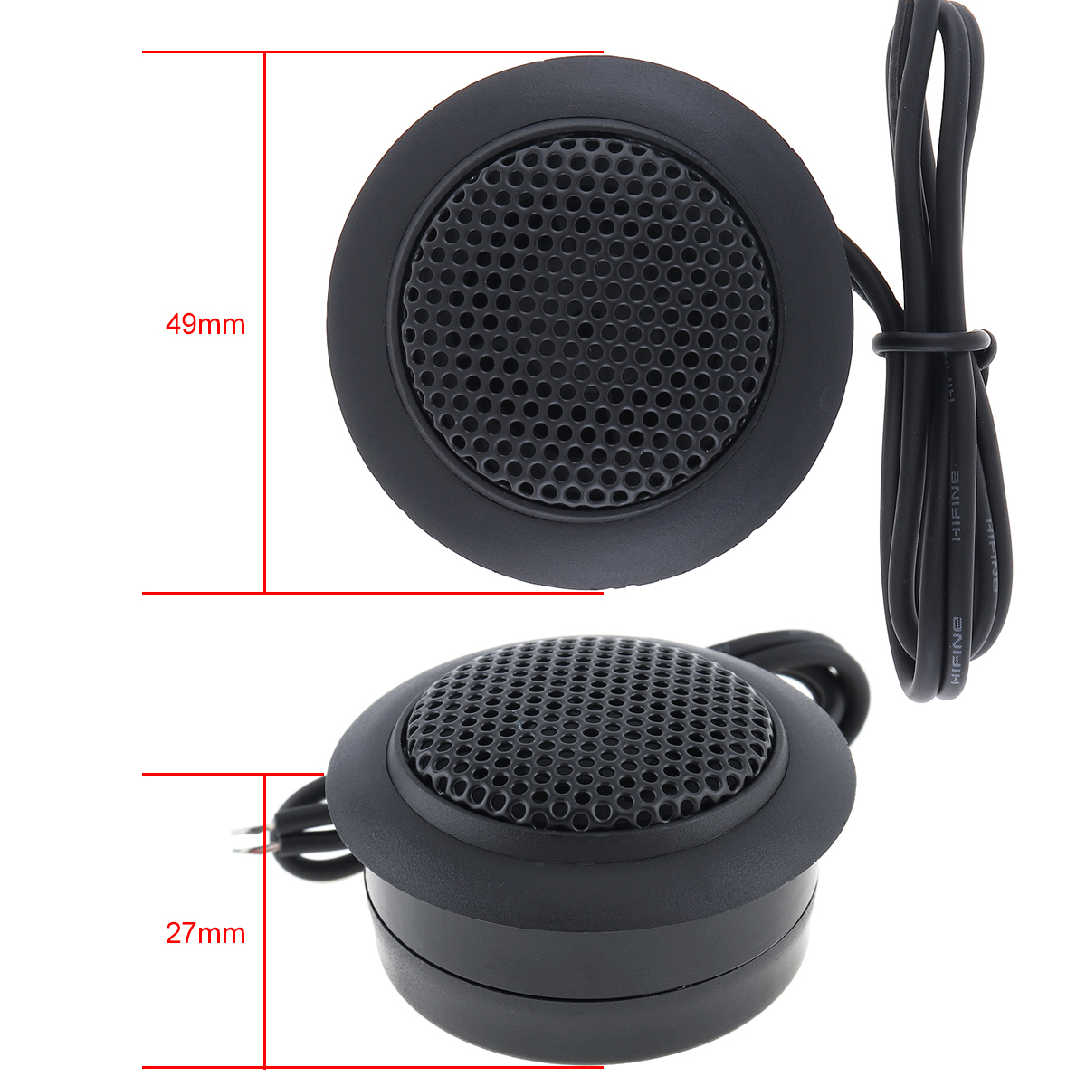 2pcs 150W B2 Car Dome Tweeter Speakers Car Loundspeaker Lound Speaker for Car Vehicle Automo Audio Sound System in Tweeters from Automobiles Motorcycles