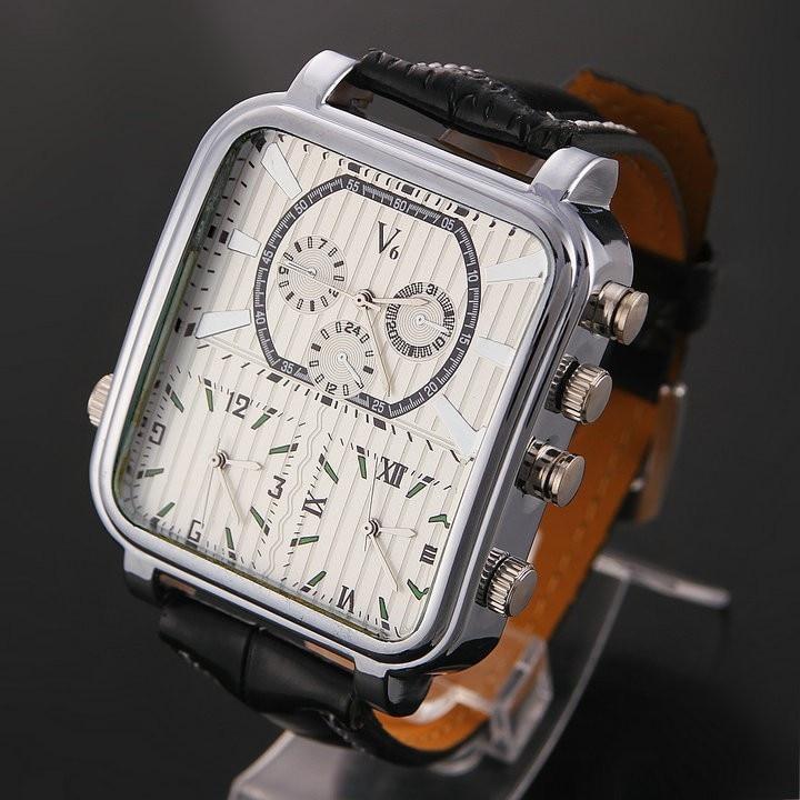 Prix pour Hot style authentique V6 haut de gamme marque montres, de luxe de loisirs hommes montre, trois œuvres voitures, mode quartz montres pour femmes