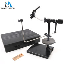 Best sell!!!! FLY TYING VICE Hard Iron Jaws rotary Fly tying vise