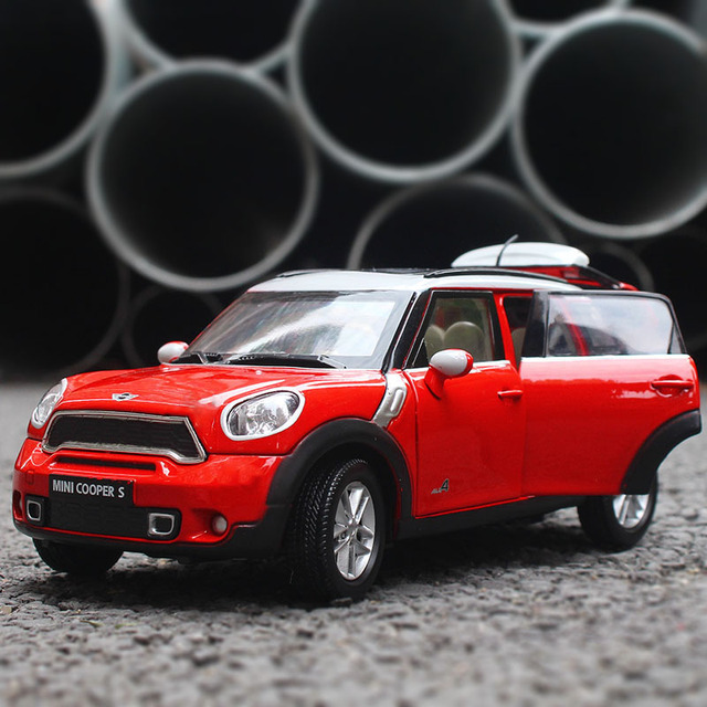 Kdw 1 24 Alloy Car Model Simulation Bm Mini Coopers Sports Children Like The
