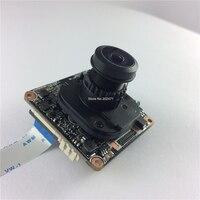 WiFi IPC 1 3MP CMOS Hi3518E IP CCTV Camera Module Board With IRC 2 0MP 1