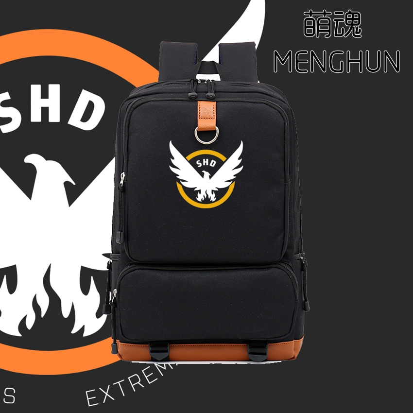 Tom Clancy's The Division backpacks big game fans backpack school bag game props school backpacks NB177 hot pc game player unknown s battlegrounds backpacks school bags pubg backpack gift for boyfriend game fans daily use nb197