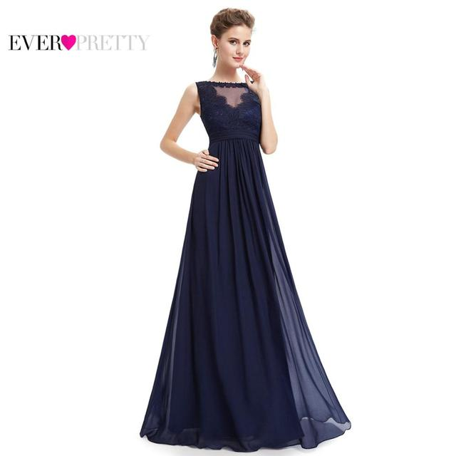 7fea5c6dd03ef Formal Evening Dresses Ever Pretty 2018 New Women Elegant Sleeveless  EP08715 Empire Long Lace Prom Special Occasion Party Gowns