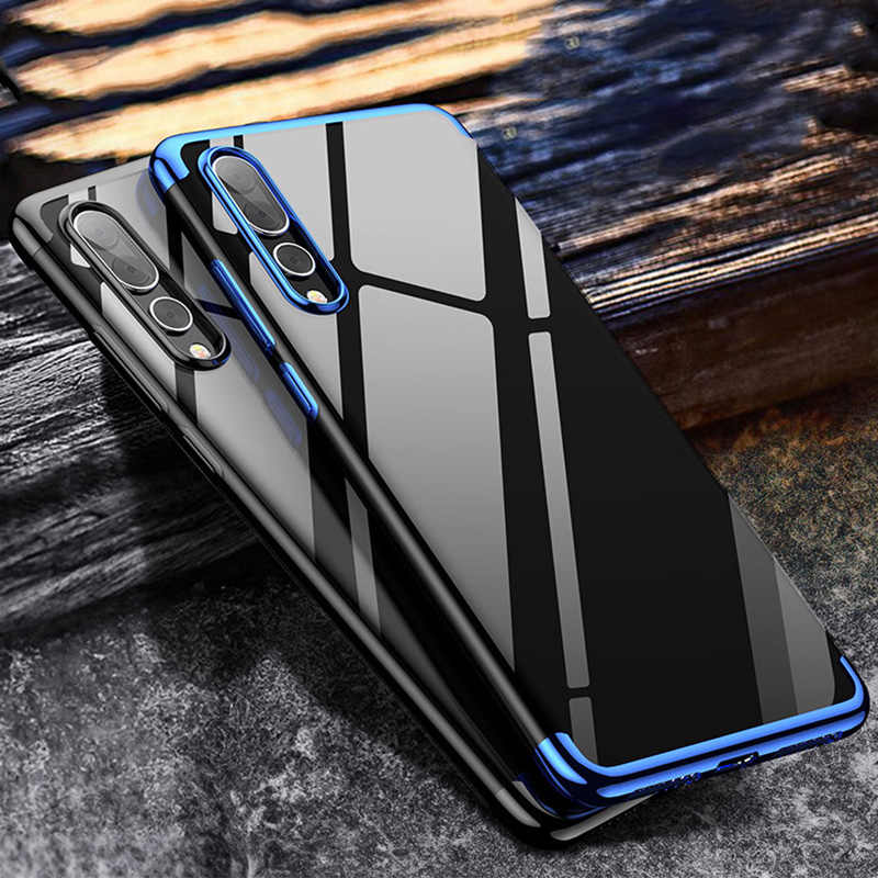 Plating TPU Case for Huawei P20 Lite Case for Huawei Mate 20 Lite X Soft 3in1 Case for Huawei P20 Pro P8 P9 P10 Lite P30 Pro