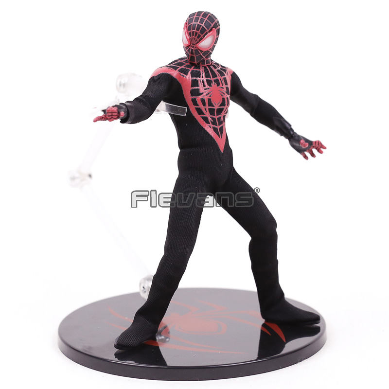 Mezco Marvel Avengers Spiderman Super Hero Spider Man One:12 Collective BJD Figure Toys 16cm new hot 10cm spider man avengers super hero action figure toys spiderman doll christmas gift with box