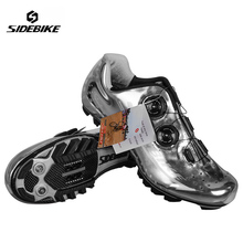 Sidebike Carbon Cycling Shoes MTB Men Racing Professional Althletic Bicycle Shoes Self Lock Breathable Non Slip Bike Shoes