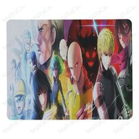 MaiYaCa Boy Gift Pad One Punch Man Anime Mouse Pad for Laptop Laptop Gaming Mice Mousepad 4
