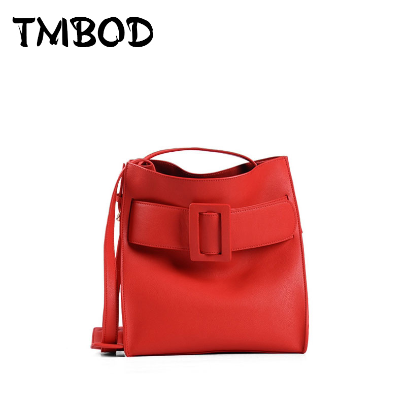 NEW 2017 Classic Buckle Bucket Bobby Bag Devon Tote Cowhide Women Split Leather Handbags Celebrity Ladies Shoulder Bags an319