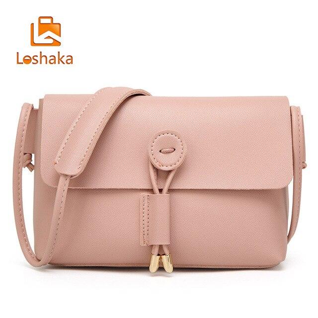 960bb4ca3e77 Aliexpress.com : Buy Loshaka 2017 New & Fashion Casual Crossbody Bag Women  PU leather Shoulder Bag Small Vintage Messenger For Women Summer Retro Bag  ...