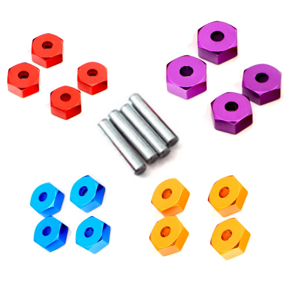 Compactly Designed Hexagon Wheel Seat Coupler For WLtoy K949 10428 A Four wheel Climbing Car RC Cars Accessories in Parts Accessories from Toys Hobbies
