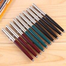 Одна деталь Герой Ручка 007 Классическая винтажная ручка иридиевые Nibs студентов для записи специальная ручка авторучка