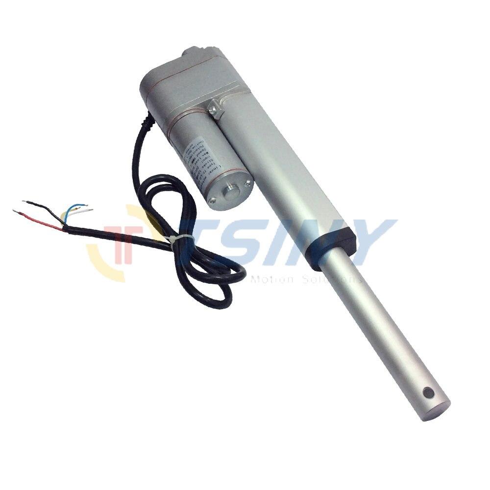 10K Potentiometer Feedback 12VDC Electric Linear Actuator Motor 200mm/8 stroke grain doo ...