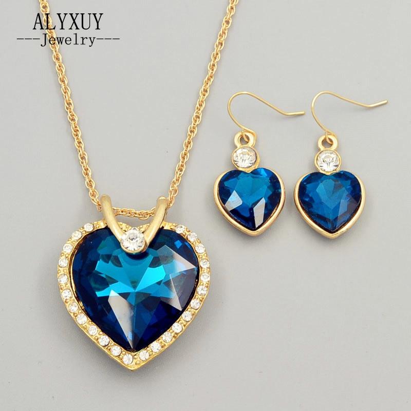 Aliexpress Com Buy New Fashion Necklace Earrings Bridal: Aliexpress.com : Buy New Fashion Wedding Jewelry Set