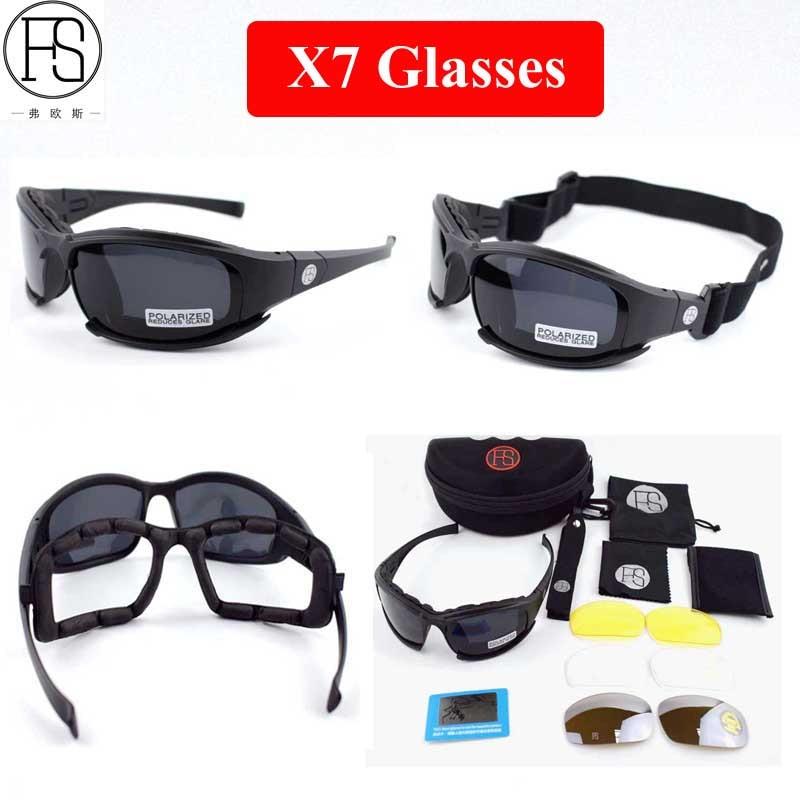 Caminhadas Eyewears de caça caminhadas wargame Tactical Glasses   Airsoft  Goggles, military Glasses 6db8c6cf40