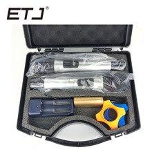 лучшая цена ETJ Brand Portable Wireless Microphone Double Handheld UHF Wireless Microphone Dynamic 2 Microphone Karaoke With Carrying Box Q2