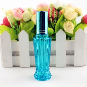 Image 3 - 10 ピース/ロット 15 ミリリットルカラフルなガラスの香水ボトル厚いミニ空の化粧品包装スプレーボトル詰め替えガラスバイアル