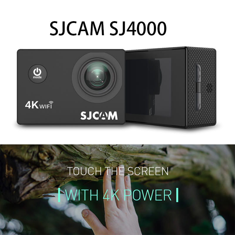 Underwater Camera Full HD 4K WIFI Sport DV 2.0 Inch Screen 170 Wide Degree Support 128G for Outdoor Underwaters Sports Diving