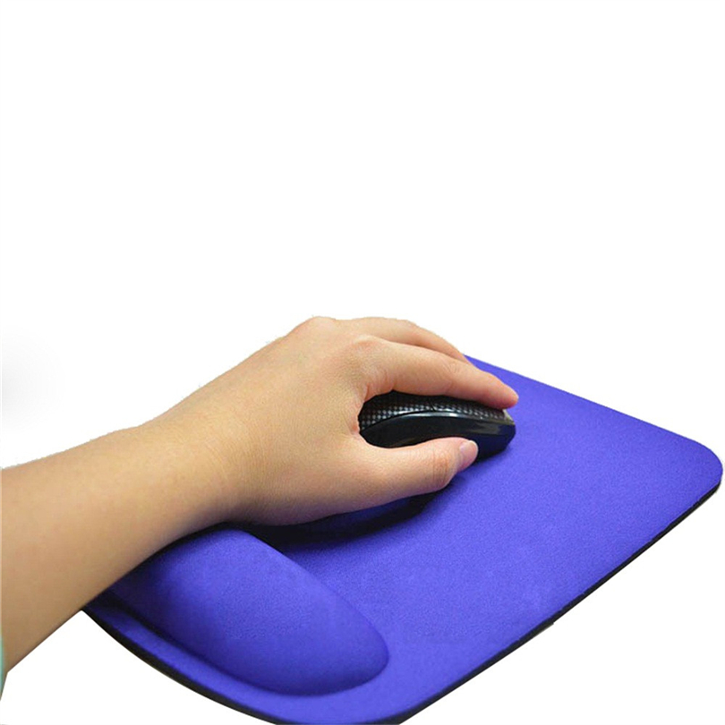 Mnycxen Mouse Pad Gel Wrist Rest Support Game Mouse Mice Mat Pad For Computer PC Laptop Anti Slip Mousepad  21 * 23cm A20