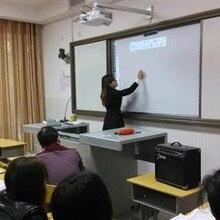 Умная школа мультимедийного оборудования высокого разрешения 10 указательный палец сенсорный портативный инфракрасная интерактивная доска
