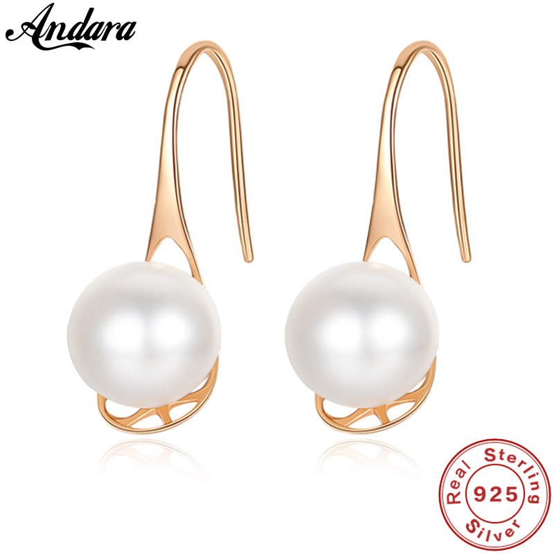 Authentic 18K Yellow Gold Earrings 6.5-7mm Natural Freshwater Pearl Drop Earrings Wedding Luxury JewelryAuthentic 18K Yellow Gold Earrings 6.5-7mm Natural Freshwater Pearl Drop Earrings Wedding Luxury Jewelry