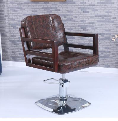 Парикмахерские ретро Утюг промышленных ветер волосы стул Прямая с фабрики Парикмахерская специальный стул - Цвет: 21