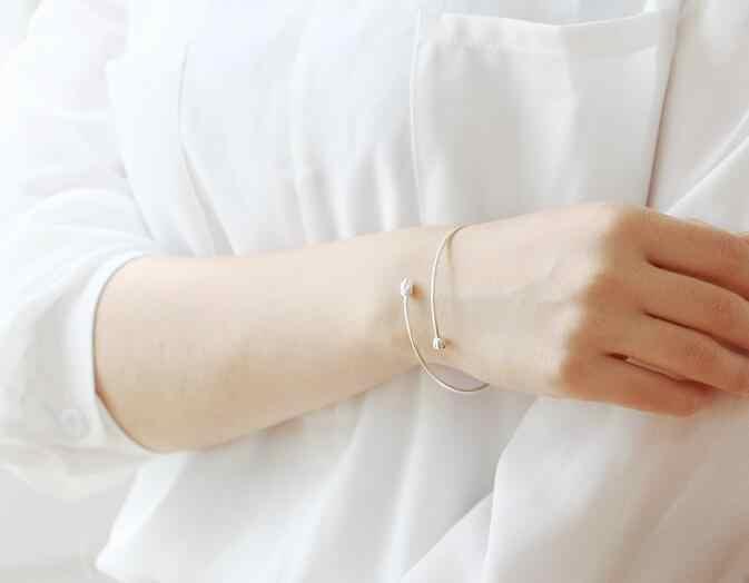 Jisensp модные ювелирные украшения, как на фото простой цветок лотоса браслеты для женщин лучшие подарочные украшения для рук браслет индийский браслет