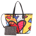 ROMERO BRITTO Hot Sale Handbags Big Bag 2016 New Ms. Messenger Large Capacity Minimalist Shoulder Bag Handbag Japan Korean Style