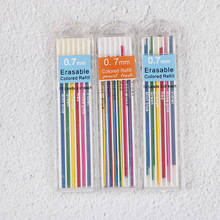 Erasable Mechanical-Pencil Refill Office-Supplies Lead Stationary Colored School Student