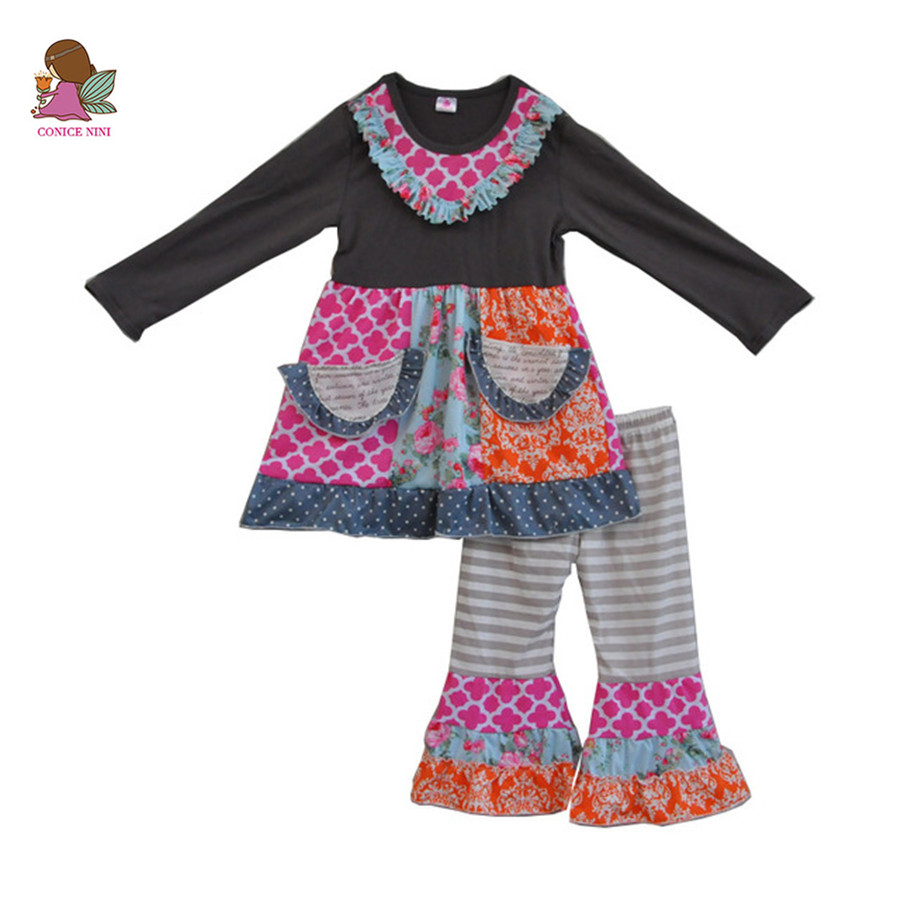 free shipping fall winter new fashion toddler girls outfit cotton children clothes baby 2 pieces clothing sets with pockets F072 frank buytendijk dealing with dilemmas where business analytics fall short