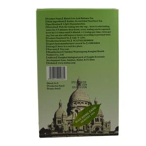 Image 2 - 40 pcs/2 חבילות חומצת שתן בדם איזון תה עבור משותף כאב בצקת דלקת גאוט טיפול להפחית שומן טהור טבעי עשבי תיבול תה