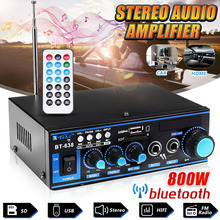 Home Amplifiers Audio bluetooth Amplifier Subwoofer Theater Sound System Mini Professional