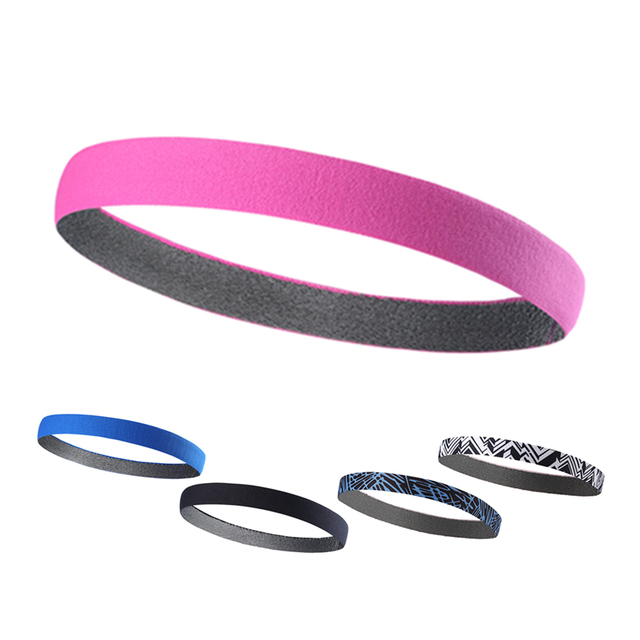 Sport Silicone Anti Slip Elastic Hair Band