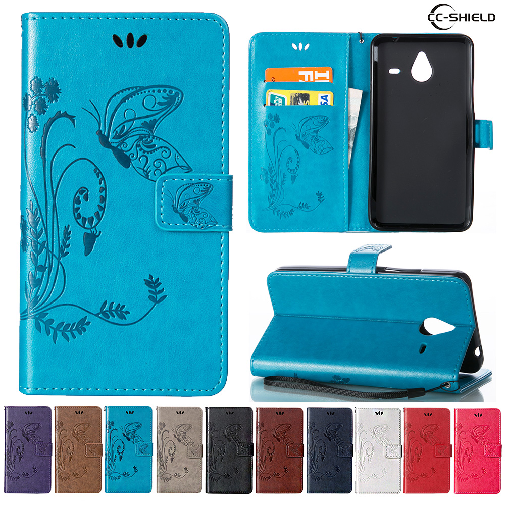 online store b49c1 b9a30 US $4.41 6% OFF|Case for Microsoft Nokia Lumia 640 XL LTE RM 1062 RM 1063  Leather Flip Cover Wallet Case for Nokia Lumia640 XL Mobile phone bag-in ...