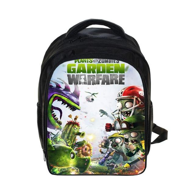 Children Hot Game Plants VS Zombies School Bags 3D Printing Backpack Casual Backpacks For Teenage Boys Girls Bag Mochila Escolar