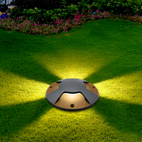 IP65 17CM LED Inground Light Outdoor Underground Lights Recessed Spotlight Kit 220v Patio Pavers Floor Deck Stair Lamp Big Size
