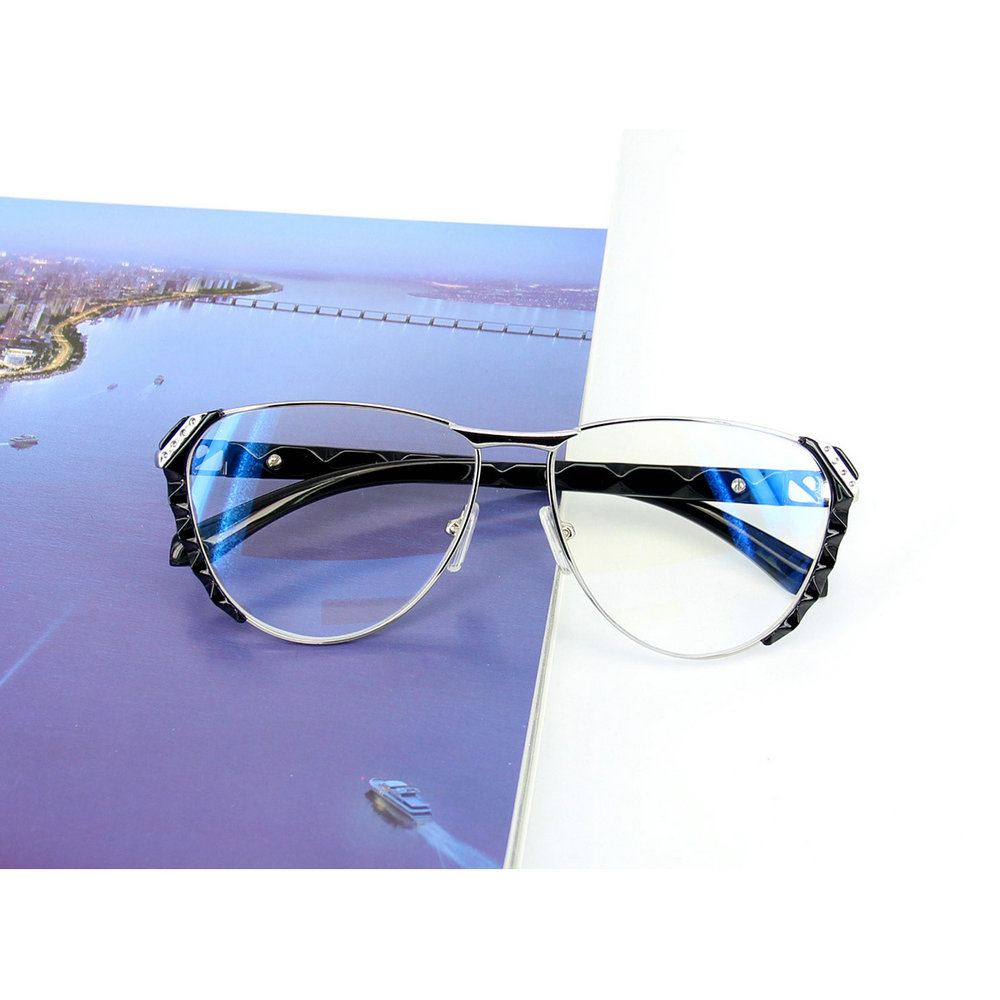 MINCL/Oversized Vintage Fashion Reading Glasses Womens HD Clear Lens Classic Reading Glasses +1.0~+4.0-gyw