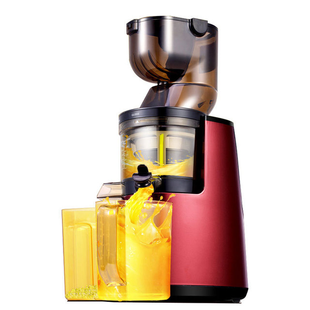 80CM Wide Slow Juicer Low Speed Juice Extractor Fully Automatic Juice Maker  Keep nutrition Juice Machine