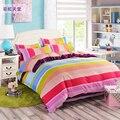 Frete grátis Home textile, Moda inverno 4 Pcs conjuntos de cama Capa de Edredon + lençol + Fronha, jogo de cama dekbedovertrek