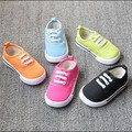 fashion candy color child toddler shoes girl boy casual flat shoes children canvas shoes kids sneakers for boys and girls shoes