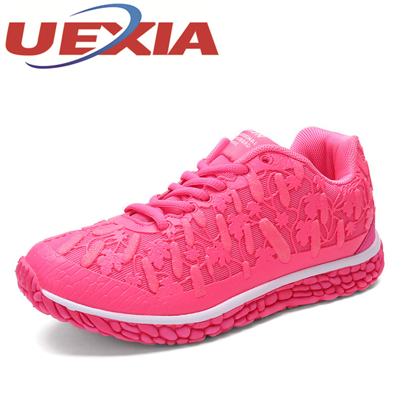 Spring Fashion Women Breathable Mesh Shoes Outdoor Casual Sport Sneakers Women Luminous Flats Shoes Zapatos Deportivos Mujers fashion men spring casual shoes chaussure homme outdoor sport portable breathable anti skid mesh shoes zapatos casuales hombre